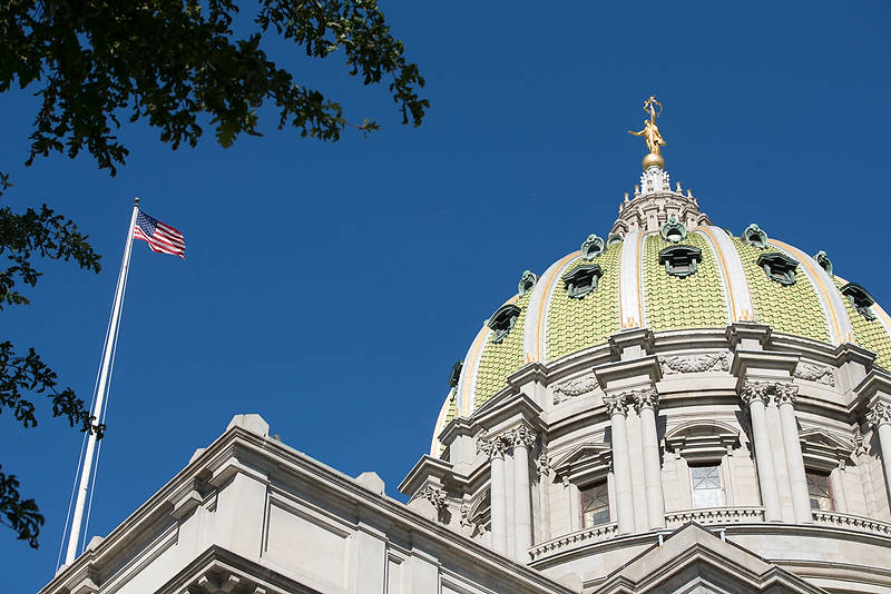 photo of the PA Capitol building