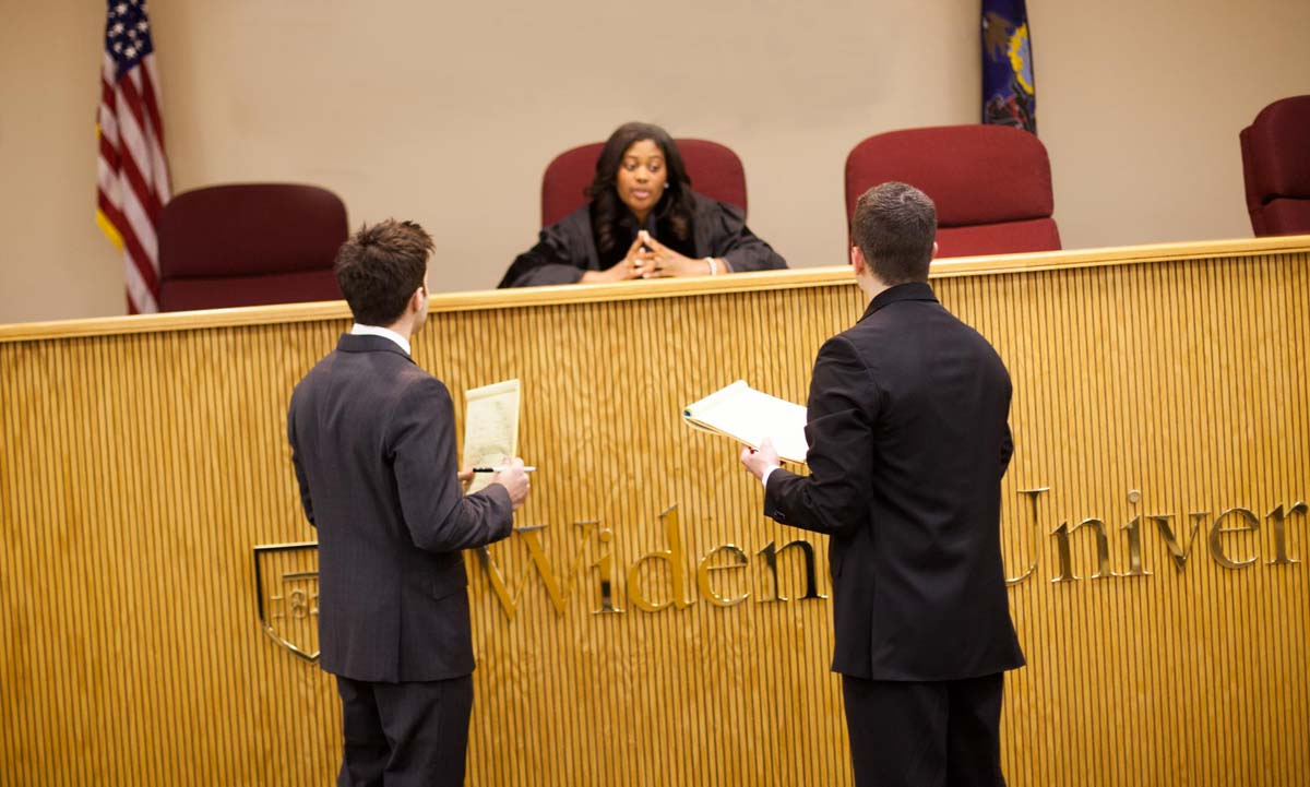 Advocacy Certificate Widener Law Commonwealth Harrisburg Pa