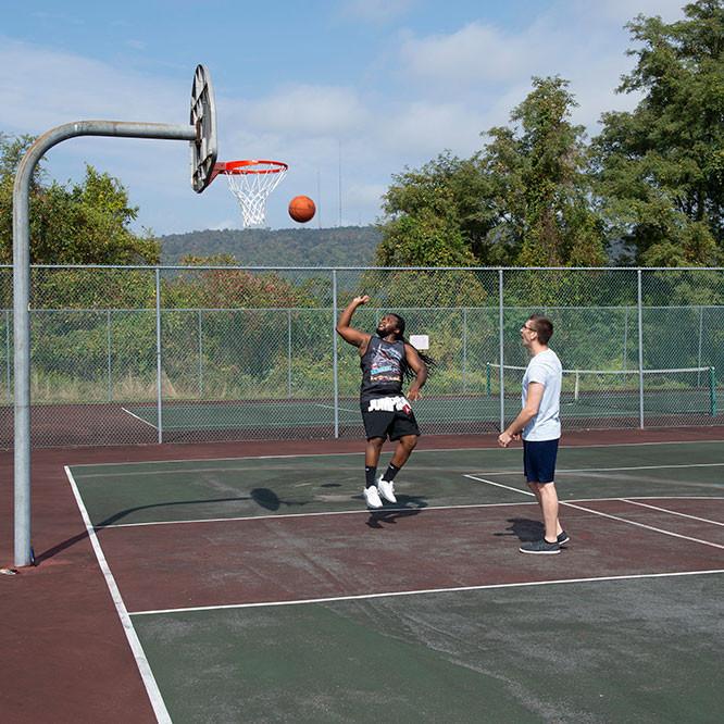 photo of 3v3 basketball tournament