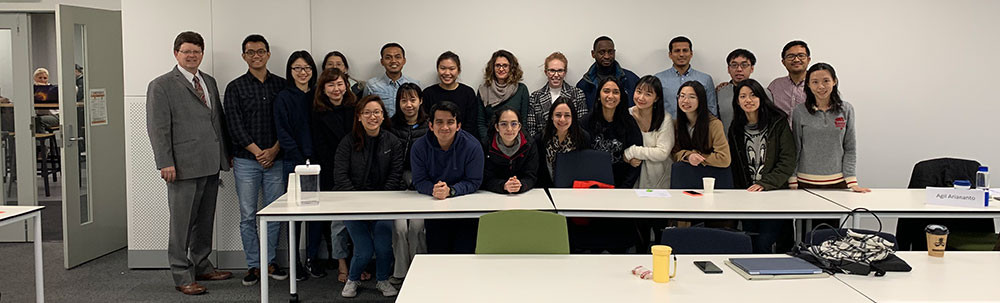 photo of Dean Johnson's Class