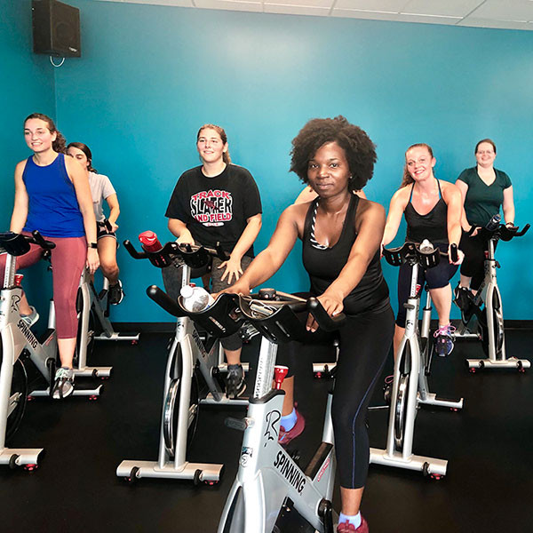photo from cycling class