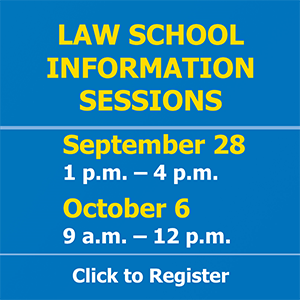 Information Sessions on 9/28 and 10/6 - Register to attend.