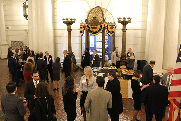 photo of an event inside the PA Capitol